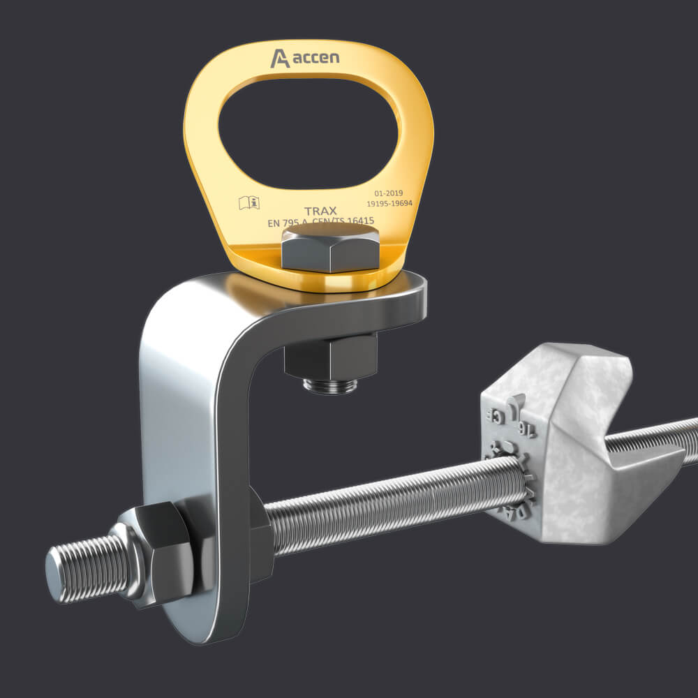 Accen- Anchor point for three people Trax CLAMP