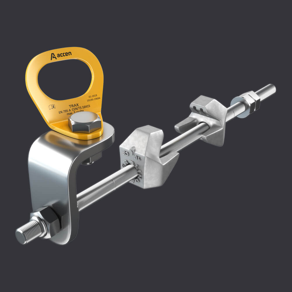 Accen Trax CLAMP- anchor point