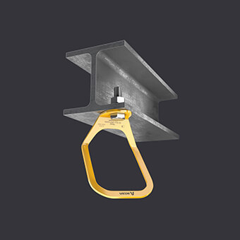 Trax Light XL anchor point - large attachment point - mounting to reinforced concrete and steel base material