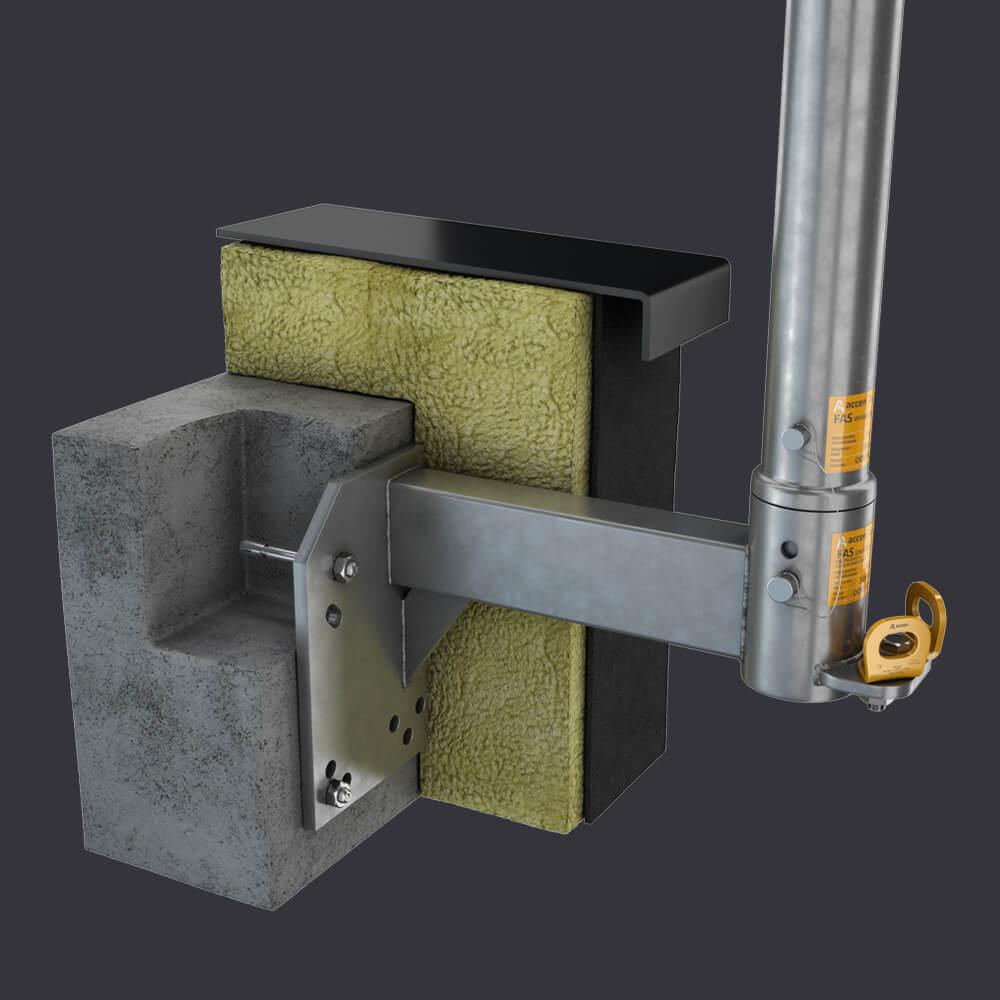 FAS ST-Accen- 2 Facade access system   fAS AT attic socket