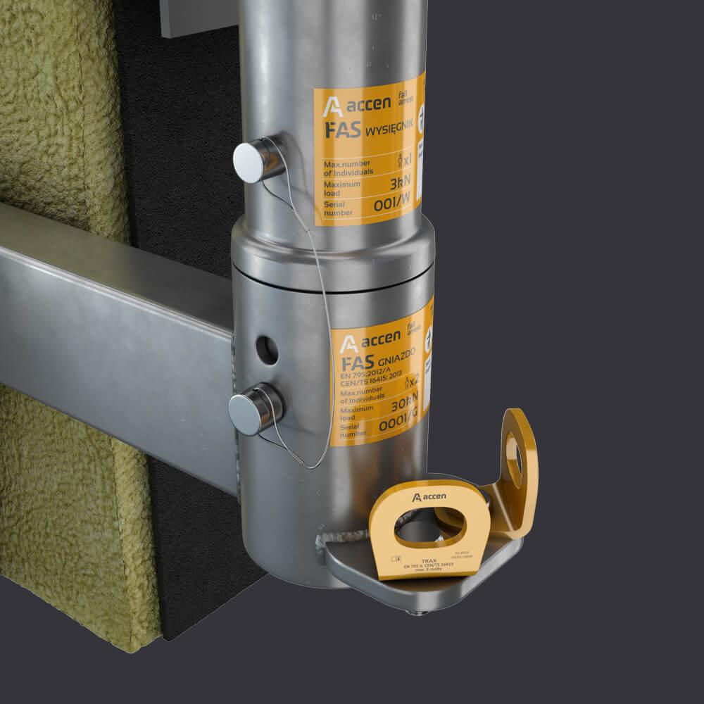 FAS AT-Accen attic socket - facade access system
