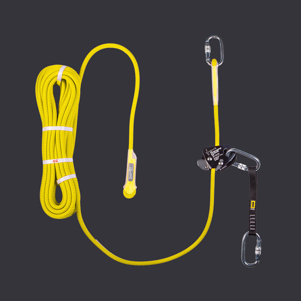 Locker Set Accen fall protection kit - automatic personal protection system