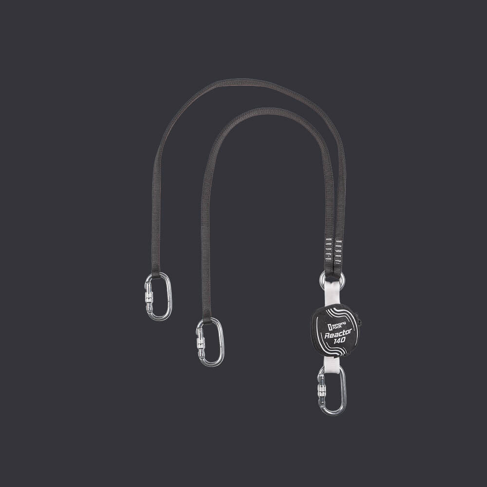 Reactor 140 S belay lanyard - Accen personal protection system