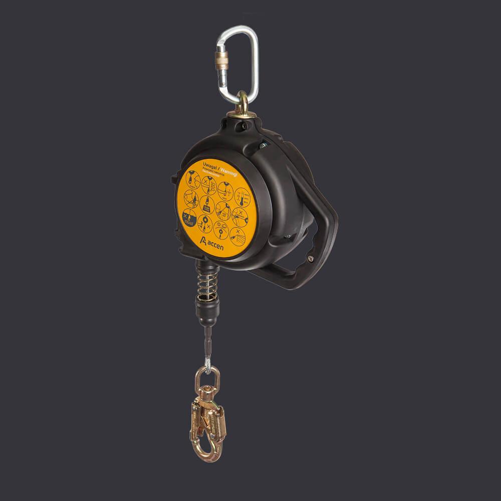 Predator 10 Accen - fall arresting device - personal protection 10m