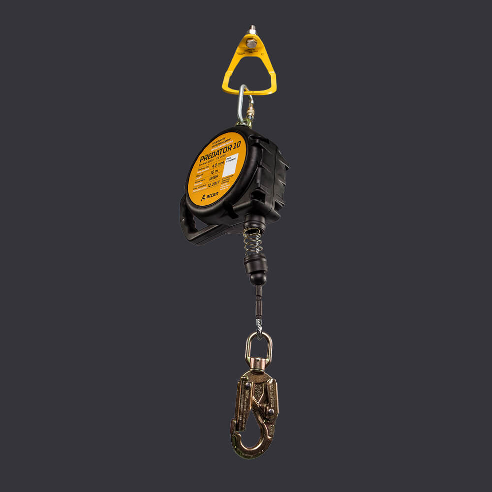 Predator 10 Accen fall arresting device - safe work at heights up to 10 m