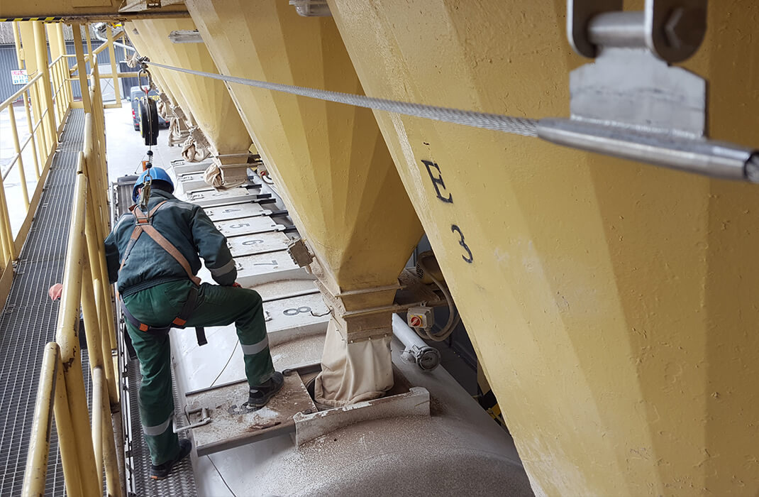 Lime and cement sector – Accen protection systems – projects-3